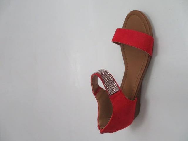 Sandały Damskie MM509, Red, 36-41 1