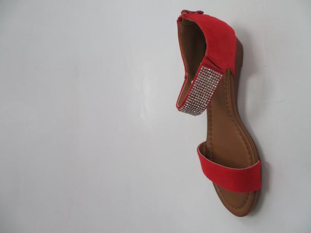 Sandały Damskie MM509, Red, 36-41 2