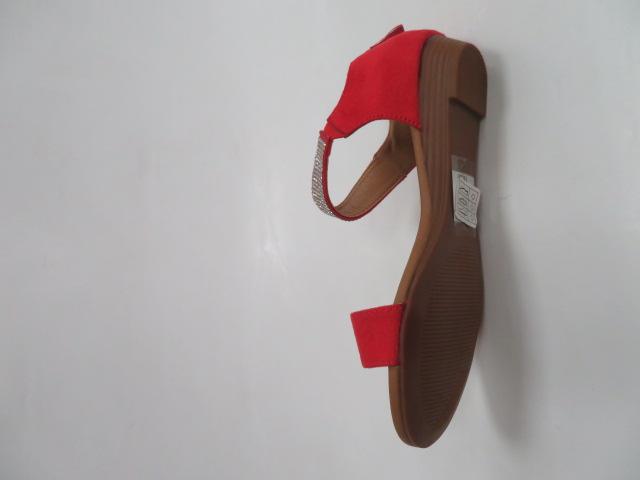 Sandały Damskie MM509, Red, 36-41 3