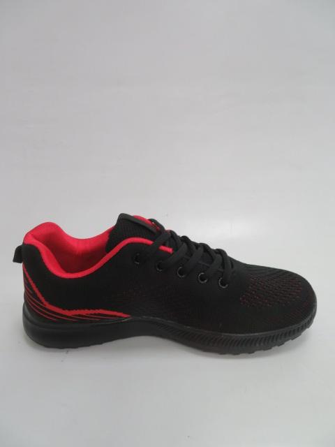 Sportowe Damskie FRY-21, Black/Red , 36-41