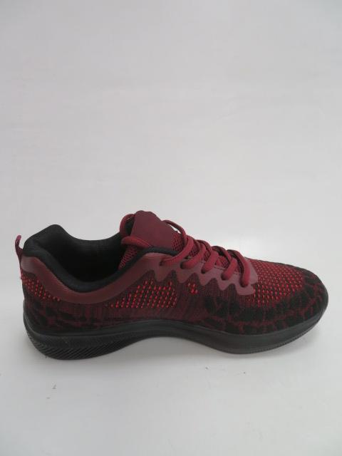 Sportowe Damskie FRY-25, Wine Red/Black , 36-41