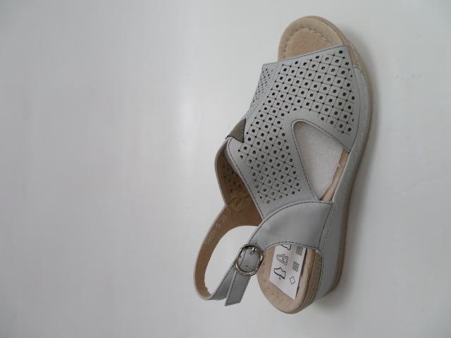Sandały Damskie 6056-5, Grey, 36-41