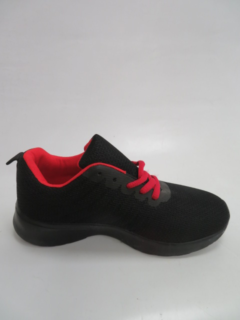 Sportowe Damskie FQH-3, Black/Red, 36-41