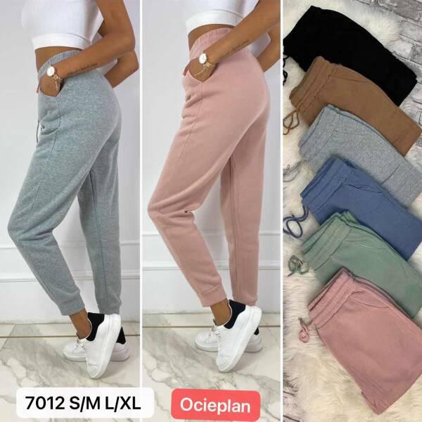 Spodnie Damskie 7012 MIX KOLOR S/M-L/XL(OCIEPLANE)