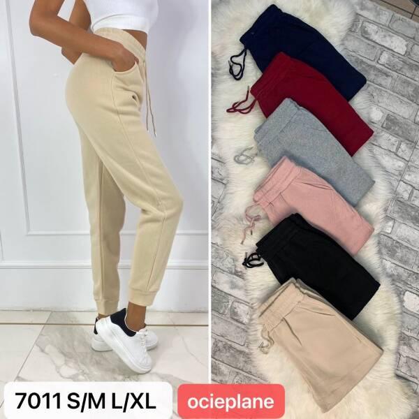 Spodnie Damskie 7011 MIX KOLOR S/M-L/XL(OCIEPLANE)
