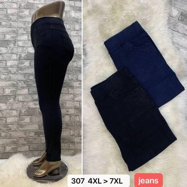 Spodnie Damskie 307 MIX KOLOR 4XL-7XL