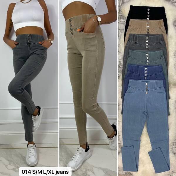 Spodnie Damskie 014 MIX KOLOR S/M-L/XL