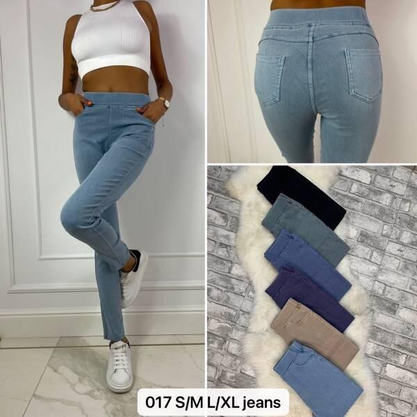 Spodnie Damskie 017 MIX KOLOR S/M-L/XL