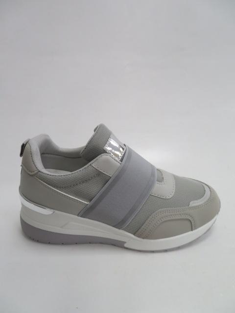 Sportowe Damskie 2901, Grey , 36-41