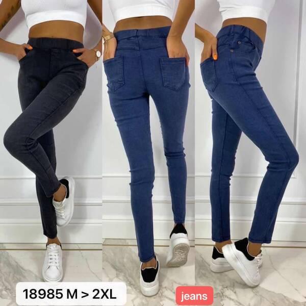 Spodnie Damskie 18985 MIX KOLOR M-2XL