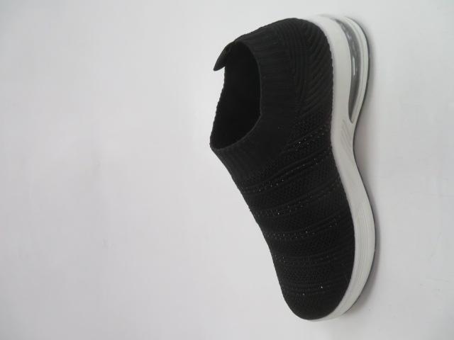 Sportowe Damskie 8113-6, Black, 36-41