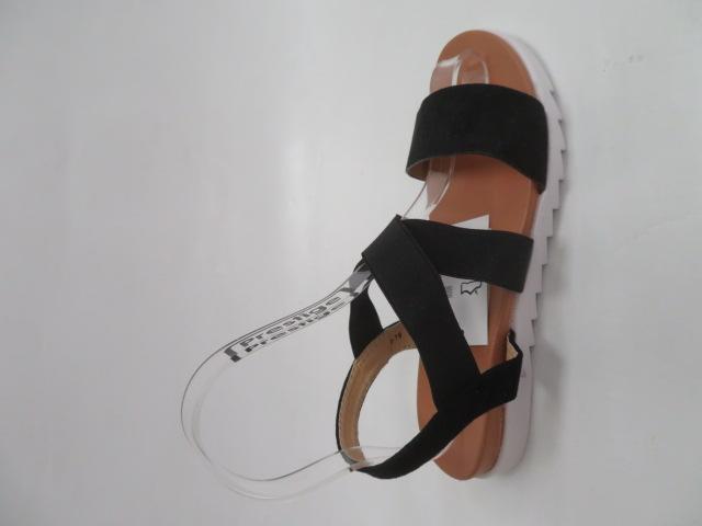 Sandały Damskie A-19, Black, 36-41