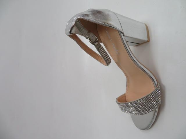 Sandały Damskie 1478, Silver, 36-41