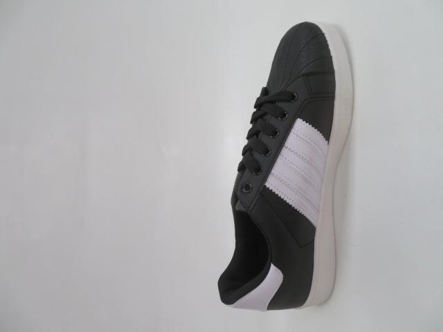 Trampki Męskie MS93-1, Black/White, 41-46