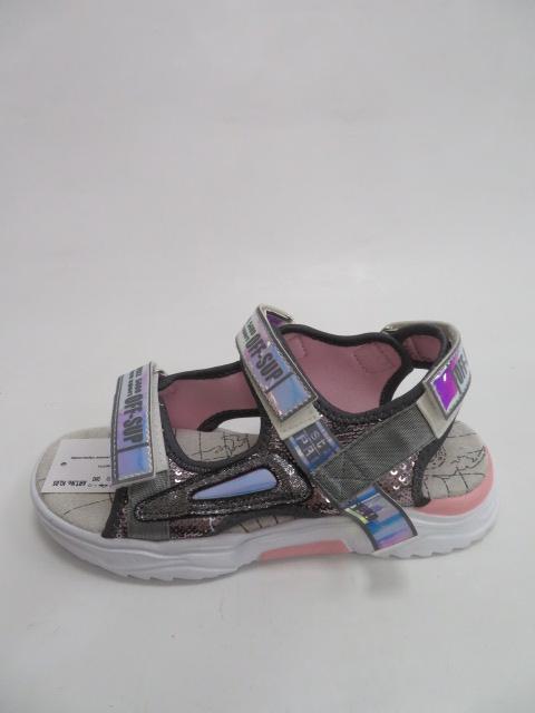 Sandały Dziecięce FJ-02, L.Grey , 32-37