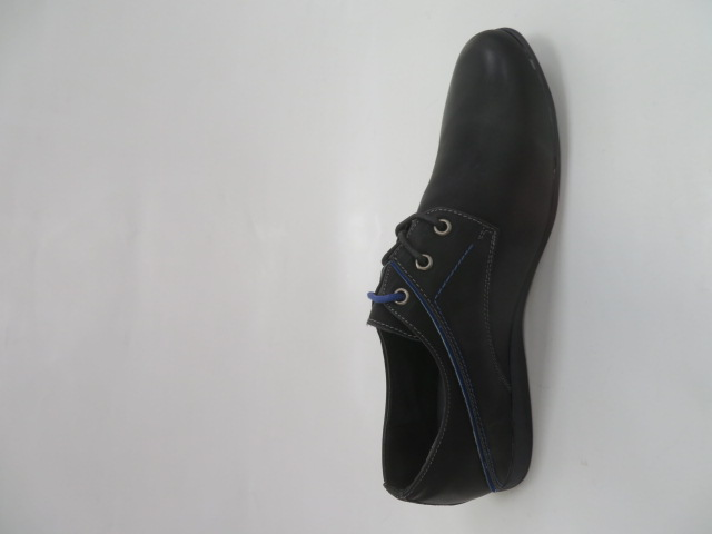 Półbuty Męskie 86113, Black/Blue, 41-46