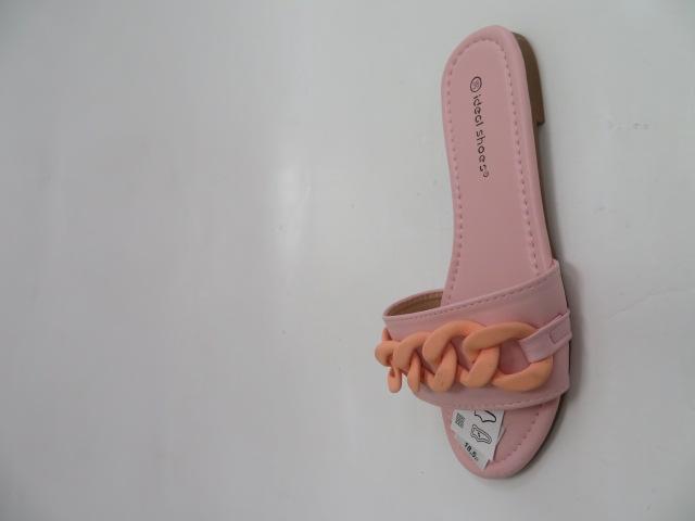 Klapki Damskie 7857-1, Pink, 36-41
