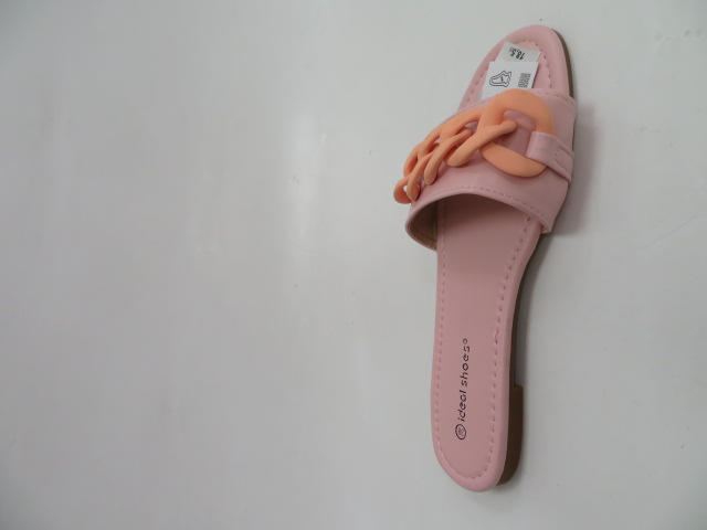 Klapki Damskie 7857-1, Pink, 36-41 2