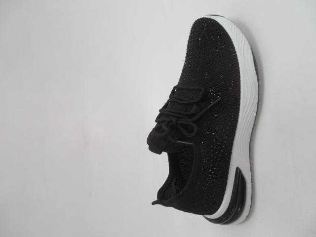 Sportowe Damskie 8216-1, Black, 36-41
