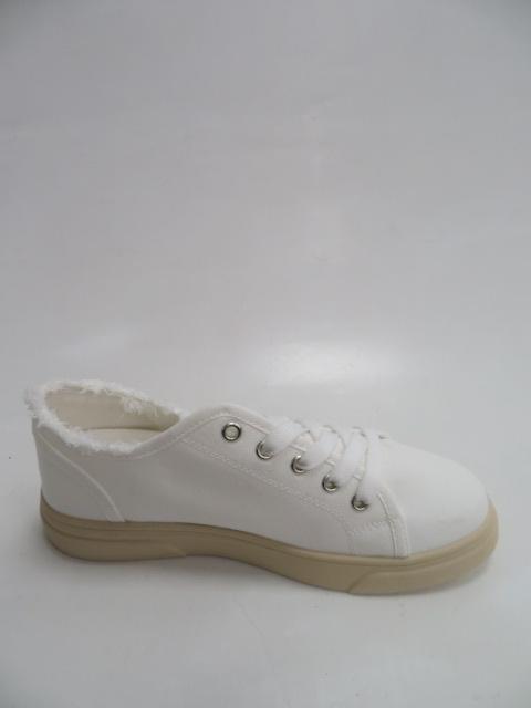 Trampki Damskie S758, White, 36-41