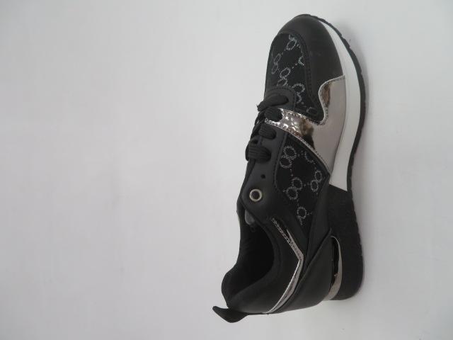Sportowe Damskie 8211-1, Black, 36-41