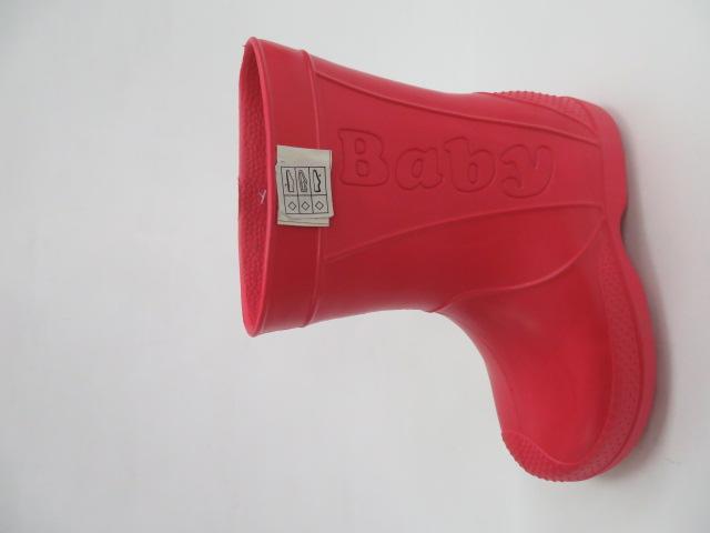 Kalosze Dziecięce XF-8001, Red, 30-35