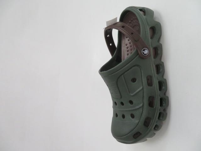 Klapki Męskie XA-1007, DK/Green, 41-46 1