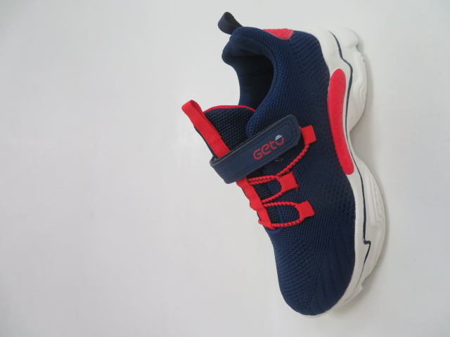 Buty Sportowe Dziecięce F776, Navy Red, 32-37
