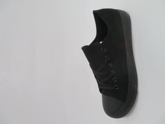 Trampki Męskie 609A-11, All Black, 41-46