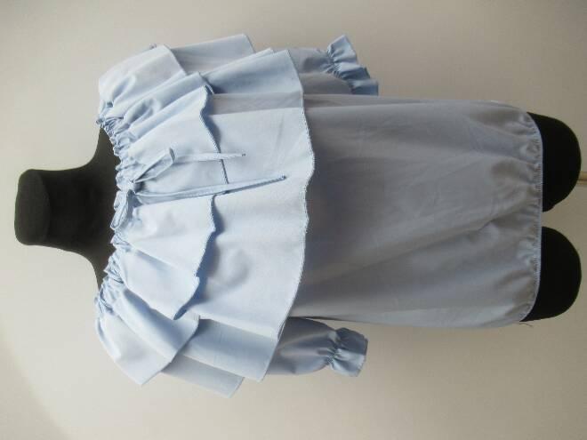 Bluzka damska F4099 MIX KOLOR STANDARD (odzież włoska)