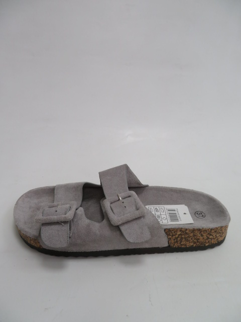Klapki Damskie 5027, Grey , 36-41