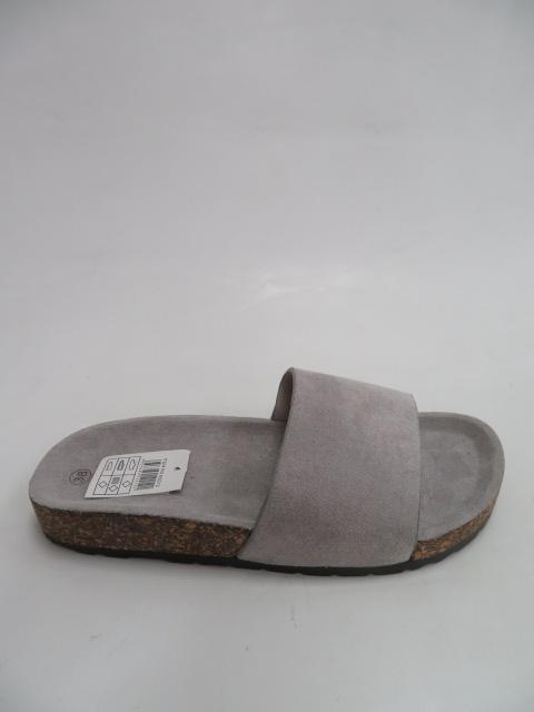 Klapki Damskie 5028, Grey, 36-41
