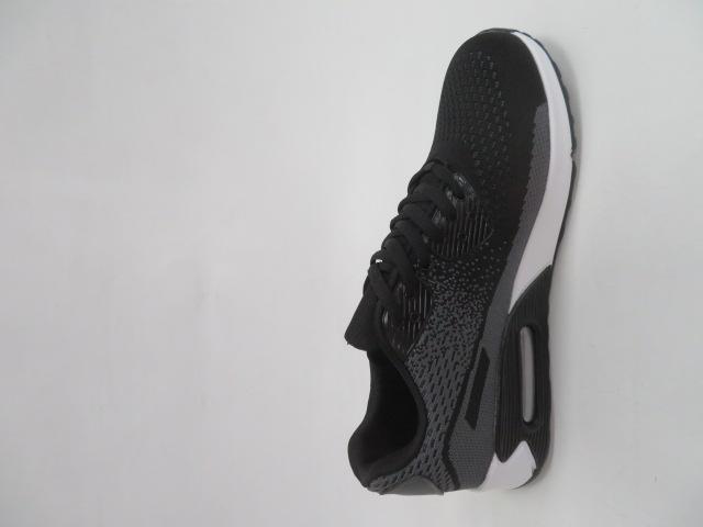 Sportowe Damskie B2900-1, Black/Grey, 36-41