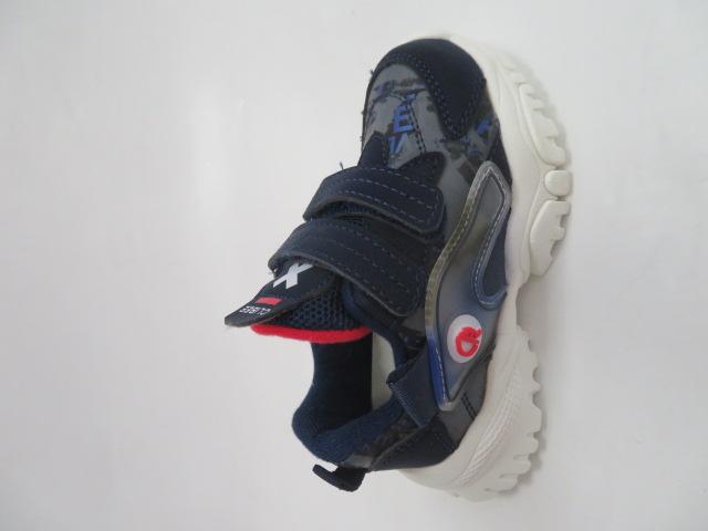 Buty Sportowe Dziecięce E-39, DBlue/Red, 21-26