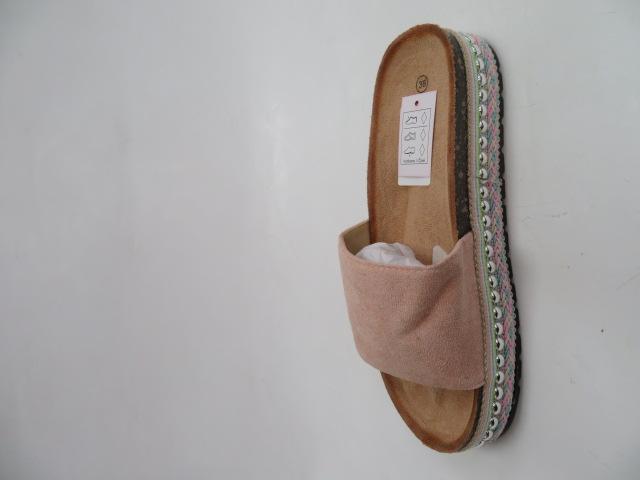 Klapki Damskie 805-5, Pink, 36-41