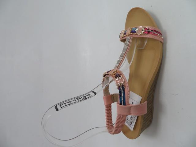 Sandały Damskie 1987, Pink, 36-41