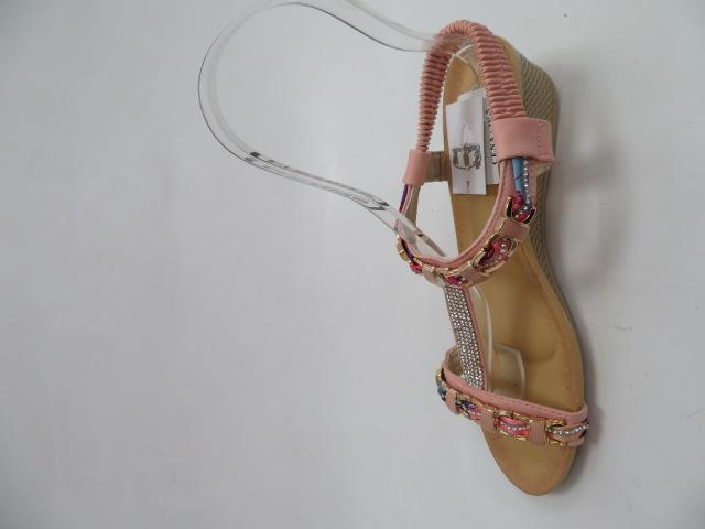 Sandały Damskie 1965, Pink, 36-41