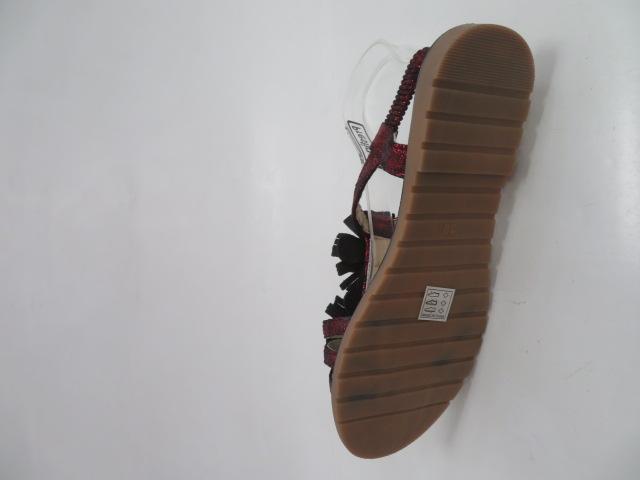 Sandały Damskie 2099, Red, 36-41