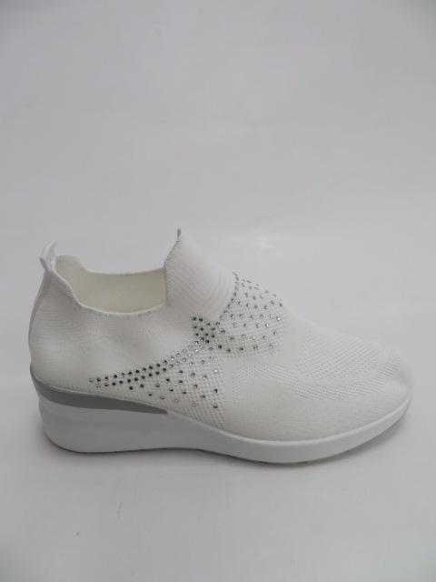 Sportowe Damskie AB839, White, 36-41