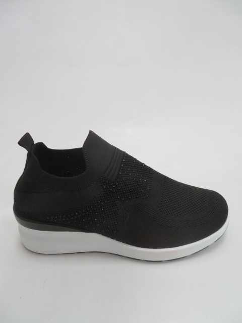 Sportowe Damskie AB839, Black, 36-41