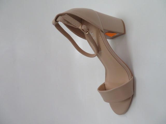 Sandały Damskie QL-82, Beige, 36-41