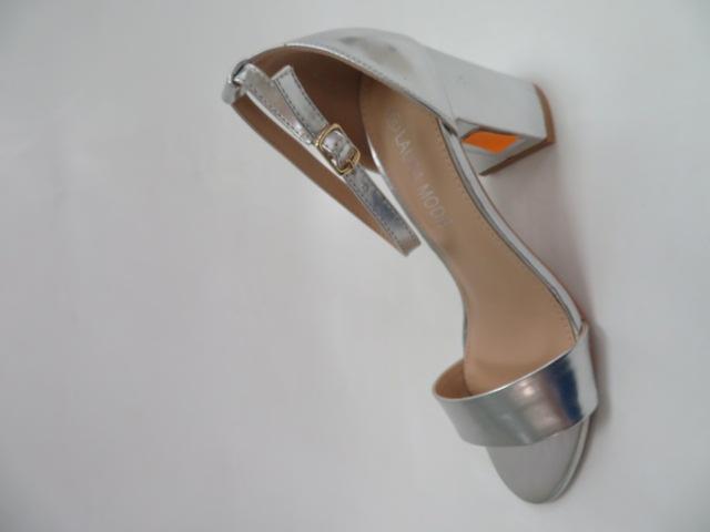 Sandały Damskie QL-82, Silver, 36-41