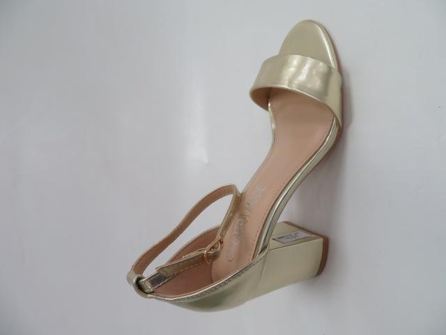 Sandały Damskie QL-82, Gold, 36-41
