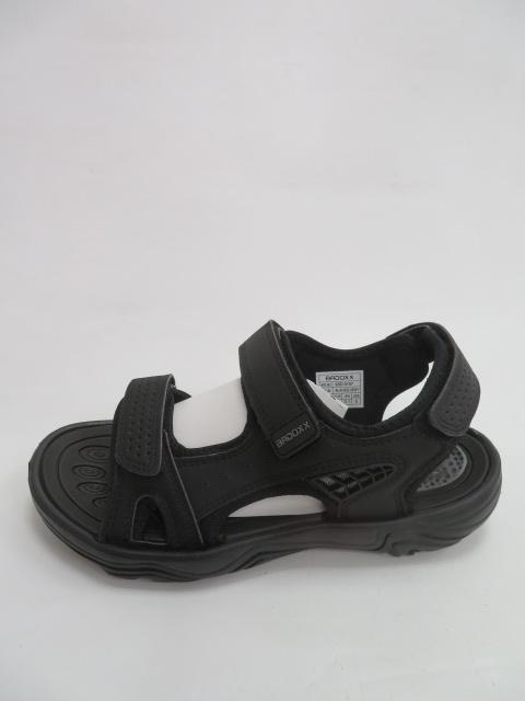 Sandały Męskie 9SD 9157, Black/D.grey, 40-45
