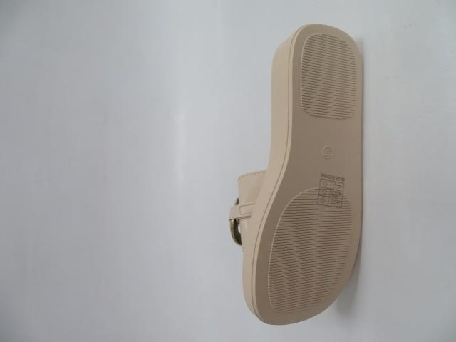 Klapki Damskie LS-8919, Beige, 36-41 3