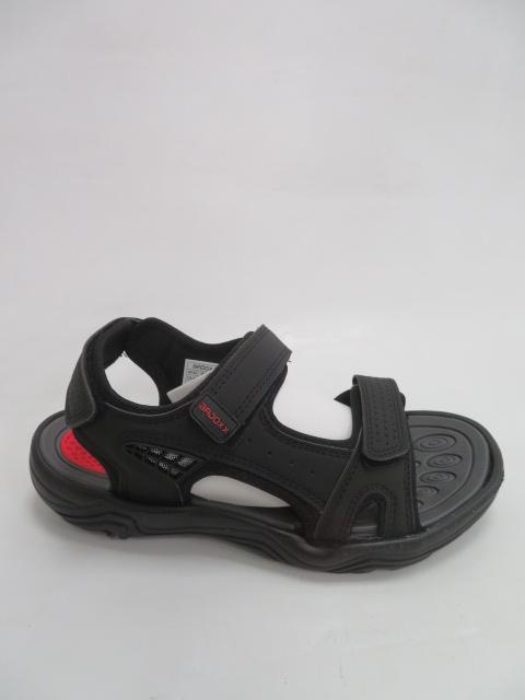 Sandały Męskie 9SD 9157, Black/Red, 40-45
