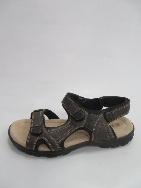 Sandały Męskie EL21800, DBrown, 41-46