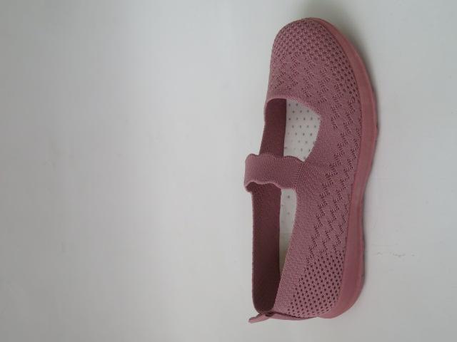Półbuty Damskie D37-5, Pink, 36-41