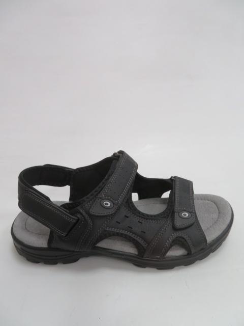 Sandały Męskie EL18627, Black, 41-46