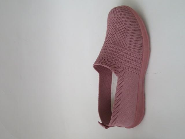 Półbuty Damskie D38-5, Pink, 36-41